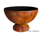 """Ohio Flame Chalice 41"""" Diameter Fire Pit Patina Finish  - OF41ABFC"""