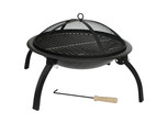 "Fire Sense Well Traveled Living 22"" Folding Fire Pit - 60873"