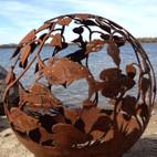 Fireball Fire Pits - Fish - 37.5 inch Fire Globe - 3715FI