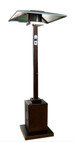 """TFPS Patio Heaters 91"""" Tall Outdoor 91"""" Tall Commercial Hammered Gold Patio Heater - TFPS-HS-HG"""