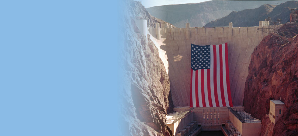Humphrys manufactured the largest US flag in the world.
