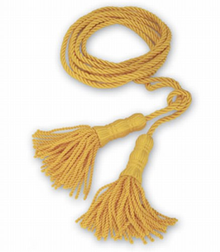 Golden Yellow Cord & Tassels