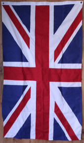 Hand sewn United Kingdom flag