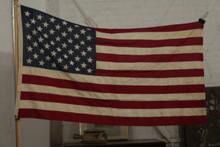 Vintage 3x5 sewn 50 star flag