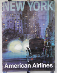 14)  American Airlines - New York   Central Park Carriage