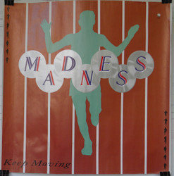 14) MADNESS KEEP MOVING RECORD STORE POSTER