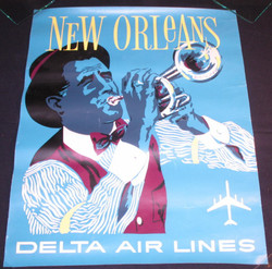 07)  DELTA AIRLINES NEW ORLEANS 1970