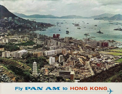01)  FLY PAN AM TO HONG KONG  1965