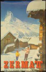 15 - ZERMATT SWITZERLAND  MATTERHORN 1959