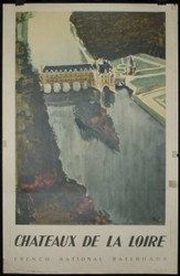 32 - CHATEAUX DE LA LOIRE FRENACH NATIONAL RAILROADS 1940s
