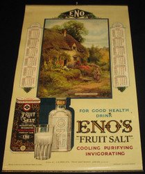 19 - ENO FRUIT SALT COOLING PURIFYING INVIGORATING 1927