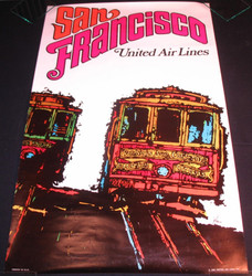 50)  SAN FRANCISCO UNITED AIR LINES 1967