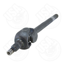 "USA Standard 1541H replacement left hand intermediate axle for Chrysler 8.0"" IFS, 6.26"" Long"