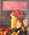 Preserving Summer's Bounty edited by Susan McClure
