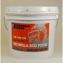 Growilla Bud Food - 1 gallon, organic fertilizer, organic gardening