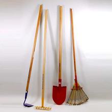 True Temper Kid'20s Bow Rake, gardening tools, kid's gardening tool