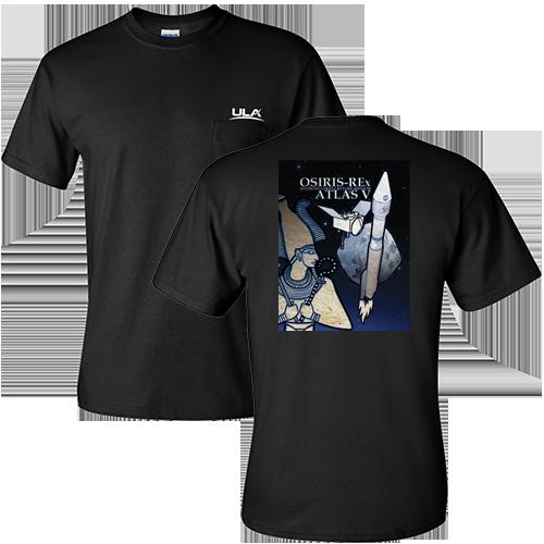 Osiris Rex Men 39 S Pocket T Shirt United Launch Alliance
