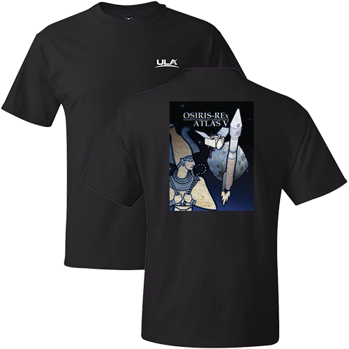 Osiris rex men 39 s short sleeve t shirt united launch alliance for La imprints t shirts