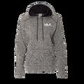 J. America - Women's Cosmic Fleece Contrast Hooded Pullover Sweatshirt