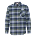 Weatherproof - Vintage Brushed Flannel Long Sleeve Shirt