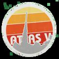 Atlas V Sticker - Package of 5