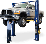 View our 2 post car lifts!
