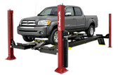 Challenger Lifts 4015XFO Open Front 15,000 Lbs Extended Length  Four Post Car Lift