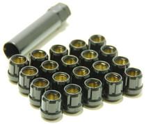 31885B  -Muteki Lug Nuts  Color: Deep Black; Size: 12X1.25
