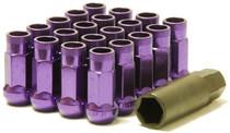 32905L  -Muteki SR48 Lug Nuts  Color: Purple; Length: 48mm; Size: 12X1.25