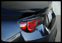 Toms - Clear Taillights FT86 ZN6 LED Tail Light (USDM Spec) Scion FR-S / Subaru BRZ - CLEAR