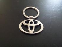 Toyota Chrome Keychain