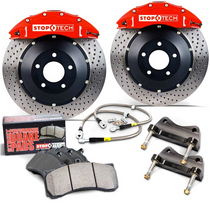 Stoptech Scion FR-S/Subaru BRZ BBK 355x32 Red/Slotted Front -83.827.4700.71