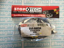 Stoptech Stainless Steel Brake Lines Front