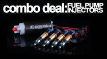 Grams Fuel Pump and Injectors