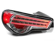 Tribar FRS/GT86/BRZ taillight -Clear/Chrome