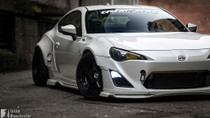 Greddy X Rocket Bunny v1 Front over fenders Only