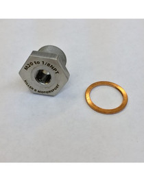 Killer B M20 (OEM) TO 1/8NPT OIL TEMPERATURE SENSOR ADAPTER