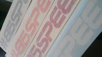 86 Speed Sticker