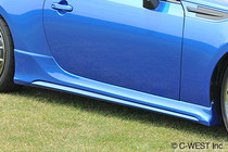 C-West BRZ Side Skirts