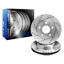 R1 Concepts E Line  Brake Rotors - Rear (OE Style)