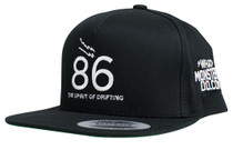 "What Monsters Do ""86"" Snap Back Hat"