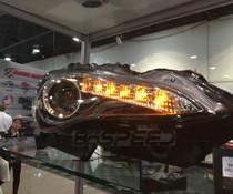 Winjet Switchback  JDM-Style Series 10 FRS Headlights (Black)