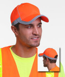 Safety Cap with Reflective Tape