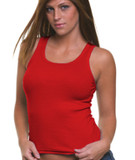 Junior 1x1 Ribbed Tank Top