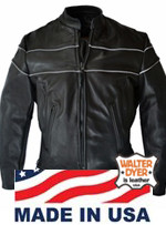 Walter Dyer Men's Silver Shadow w/ Reflective Piping