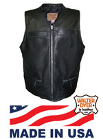 Men's #74 Zippered Front Vest