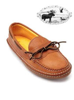 Men's Quoddy Trail Grizzly Moccasin