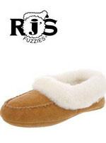 Ladies' RJ'S Aussie Bootie Sheepskin Slipper RJS 103