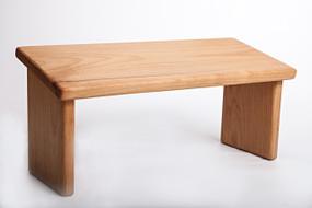 Alder hardwood bench (non-folding)