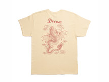 Chinese Dragon Design On Stone Short Sleeved T-shirt